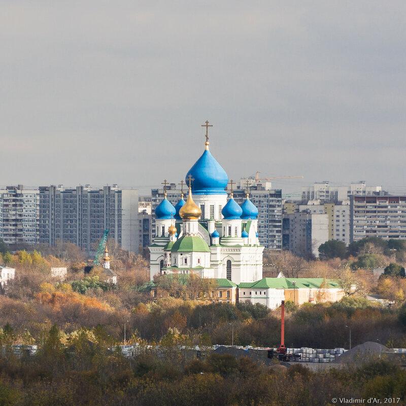 Николо-Перервинский монастырь. Золотая осень 2017.