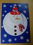 Бокач Артем (рук. Климашева Светлана Анатольевна) - Снеговик, снеговик жить на холоде привык