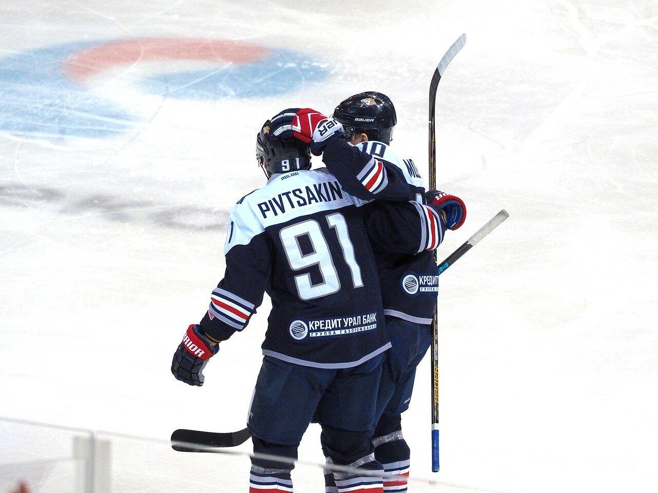 86 Металлург - ЦСКА 18.10.2017