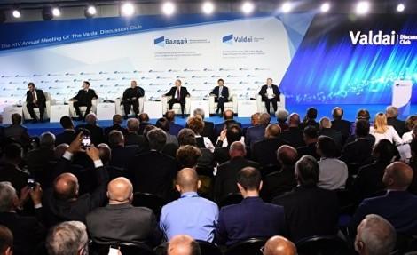 Санкции США направлены на вытеснение России с энергорынка ЕС, заявил Владимир Путин