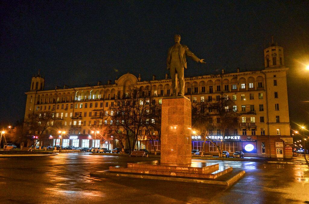 Ночной новокузнецк