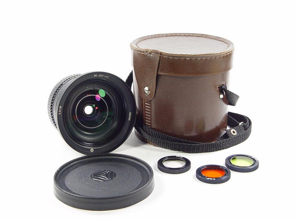 Rarity. Super wide full frame MIR-47K 20mm f/2.5 lens Pentax K mount ...