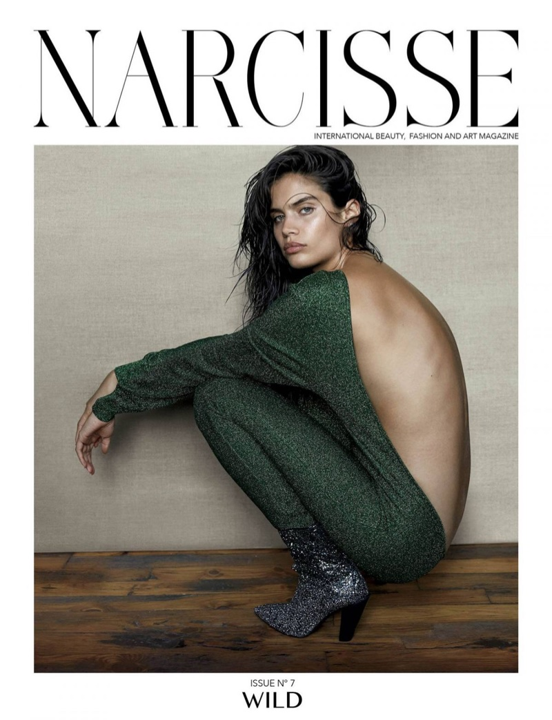Сара Сампайо на обложке Narcisse Magazine (12 фото)
