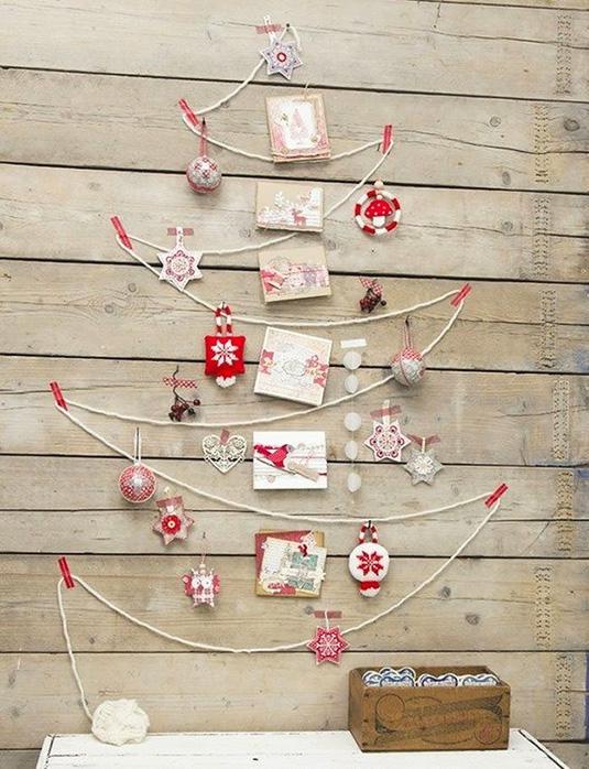 15 оригинальных идей новогодней ёлки