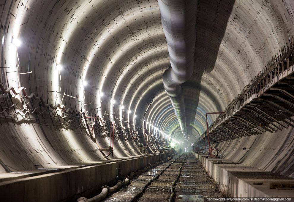 Подземные тоннели в Красноярске