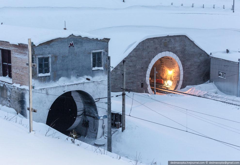Старый Крольский тоннель: