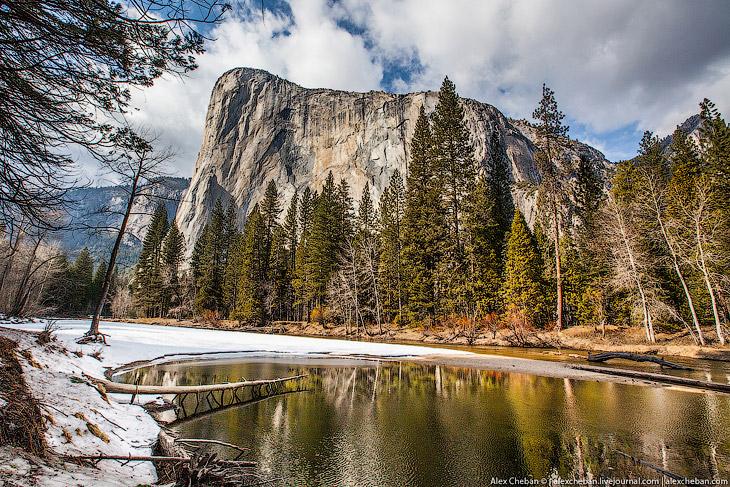 Идеальный парк Йосемити в Калифорнии (30 фото)