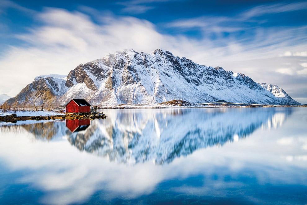 Мастер приключений    Панорамный вид с горы Хусфьелет на острове Сенья, Норвег