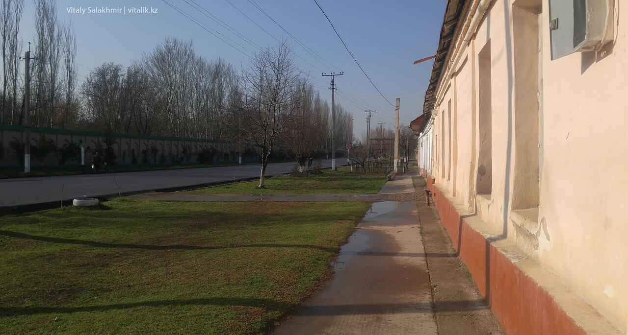 Дорога до Ташкента от границы