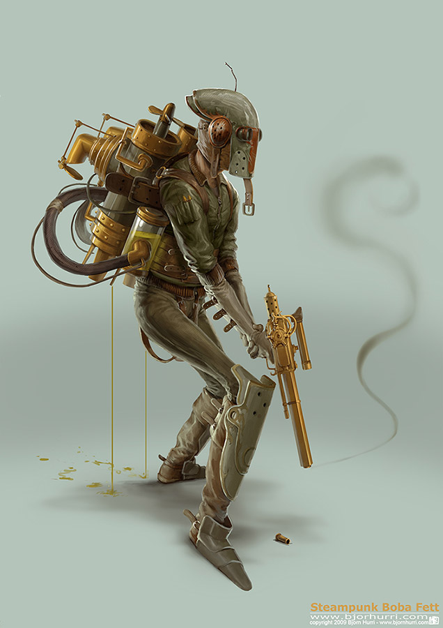 Steampunk Star Wars - Bjorn Hurri
