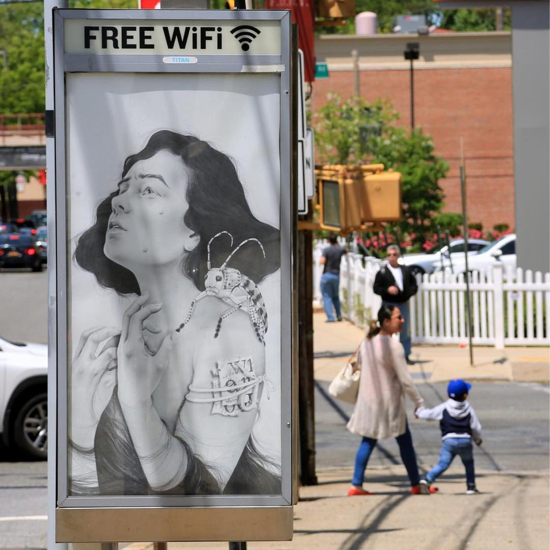 Art in Ad Places – When art invades advertising spaces