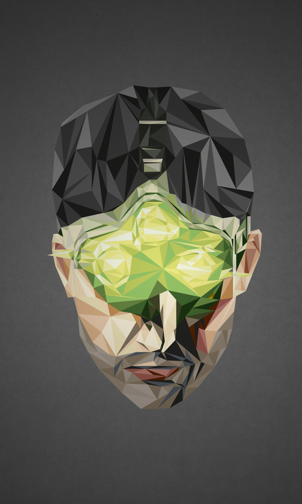 Geometric Super Heroes - Simon Delart