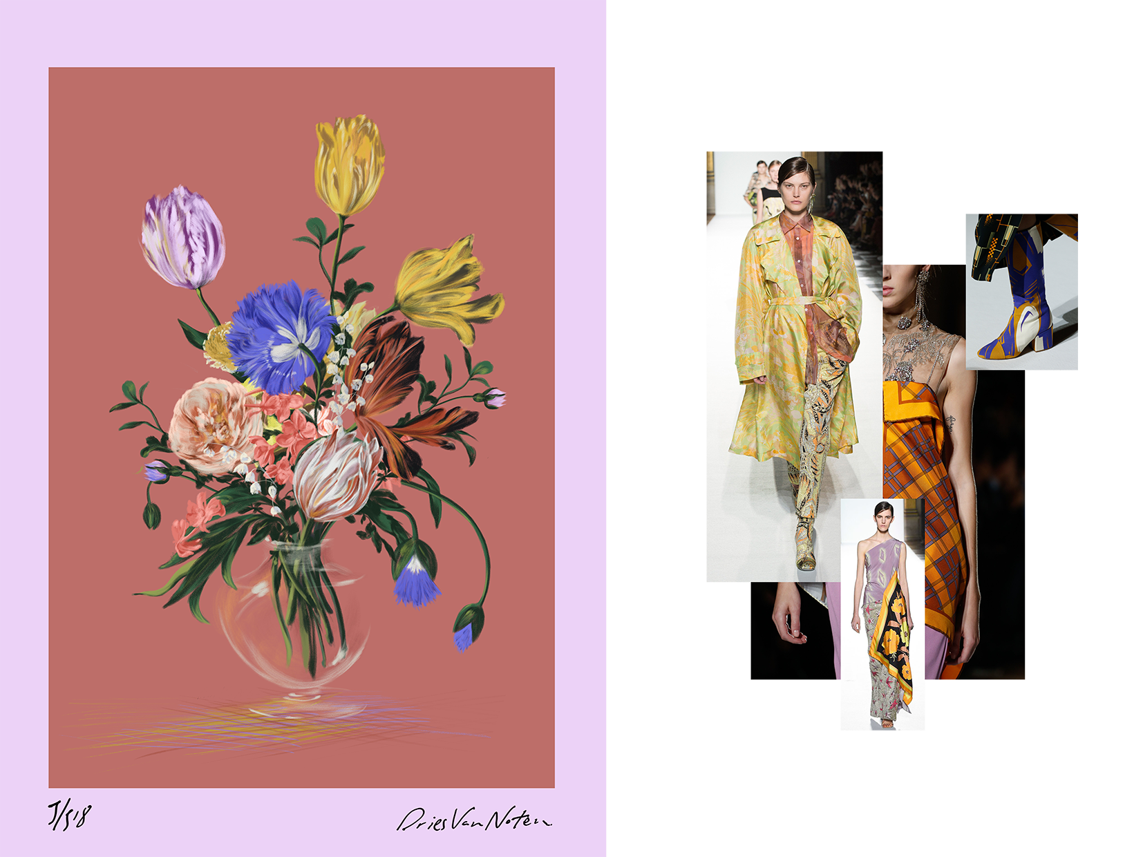 Illustrations Inspired by Haute Couture Spring Summer Collections