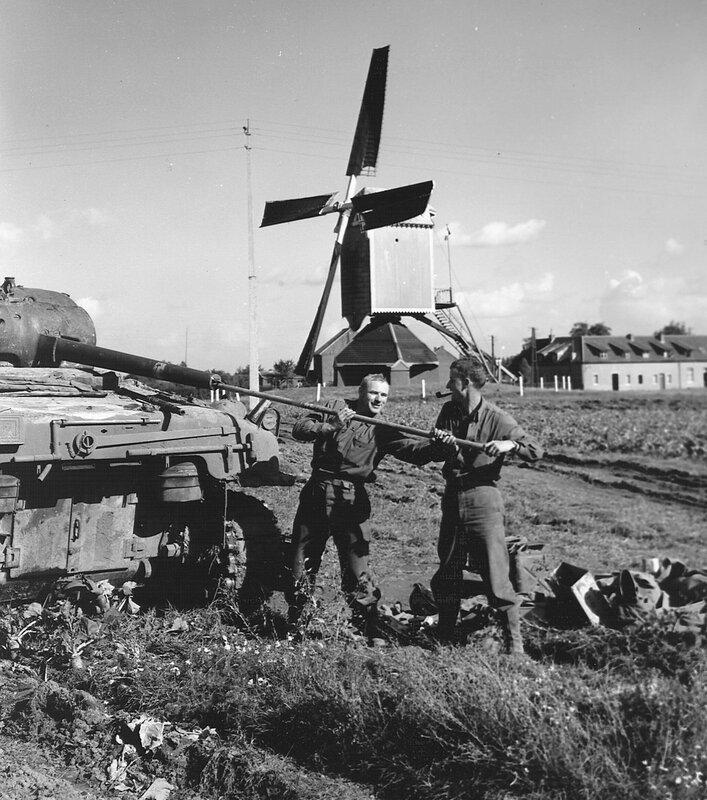 Бельгия, 1944 год.