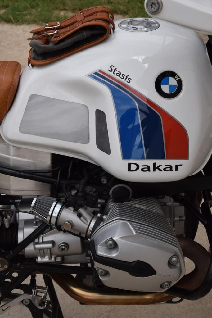 Stasis Motorcycles: кастом BMW R1200GS Dakar