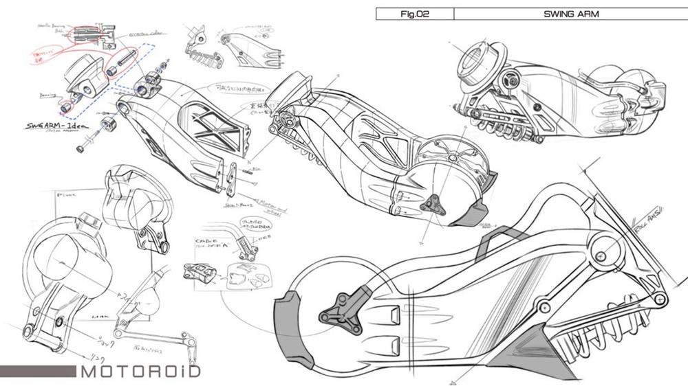 Концепт MOTOROiD: искусственный интеллект, самобалансирующая технология