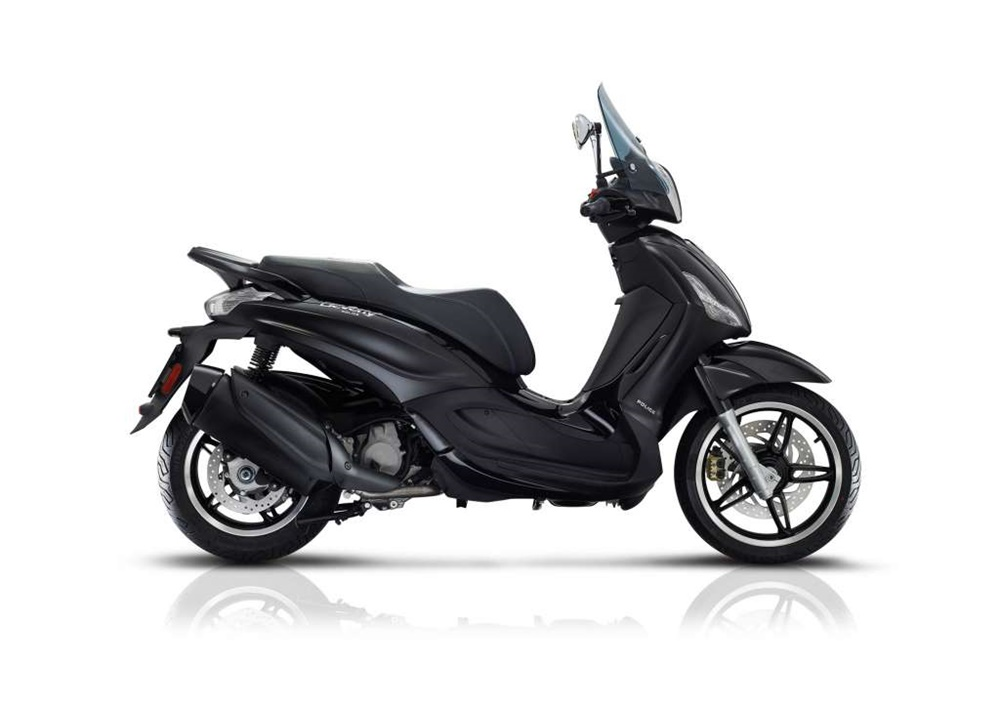 Скутеры Piaggio Beverly 300/350 by Police 2018