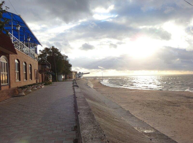 У моря, облака, ветер ... На финише октября, в городе у моря Азовского. (39).JPG