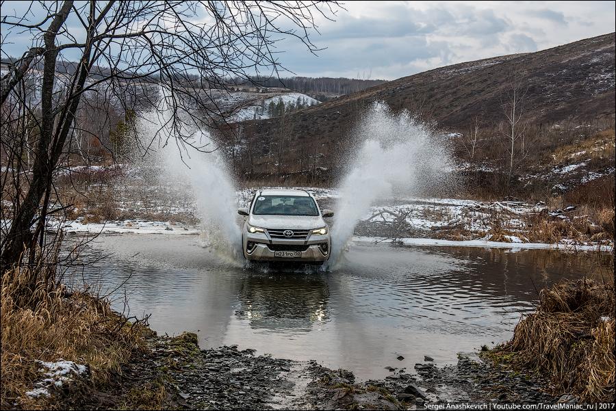 Тест-драйв Toyota Fortuner