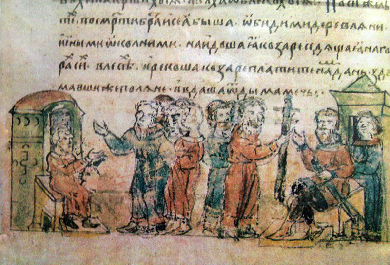 Как Князь Святослав разбил Хазарию