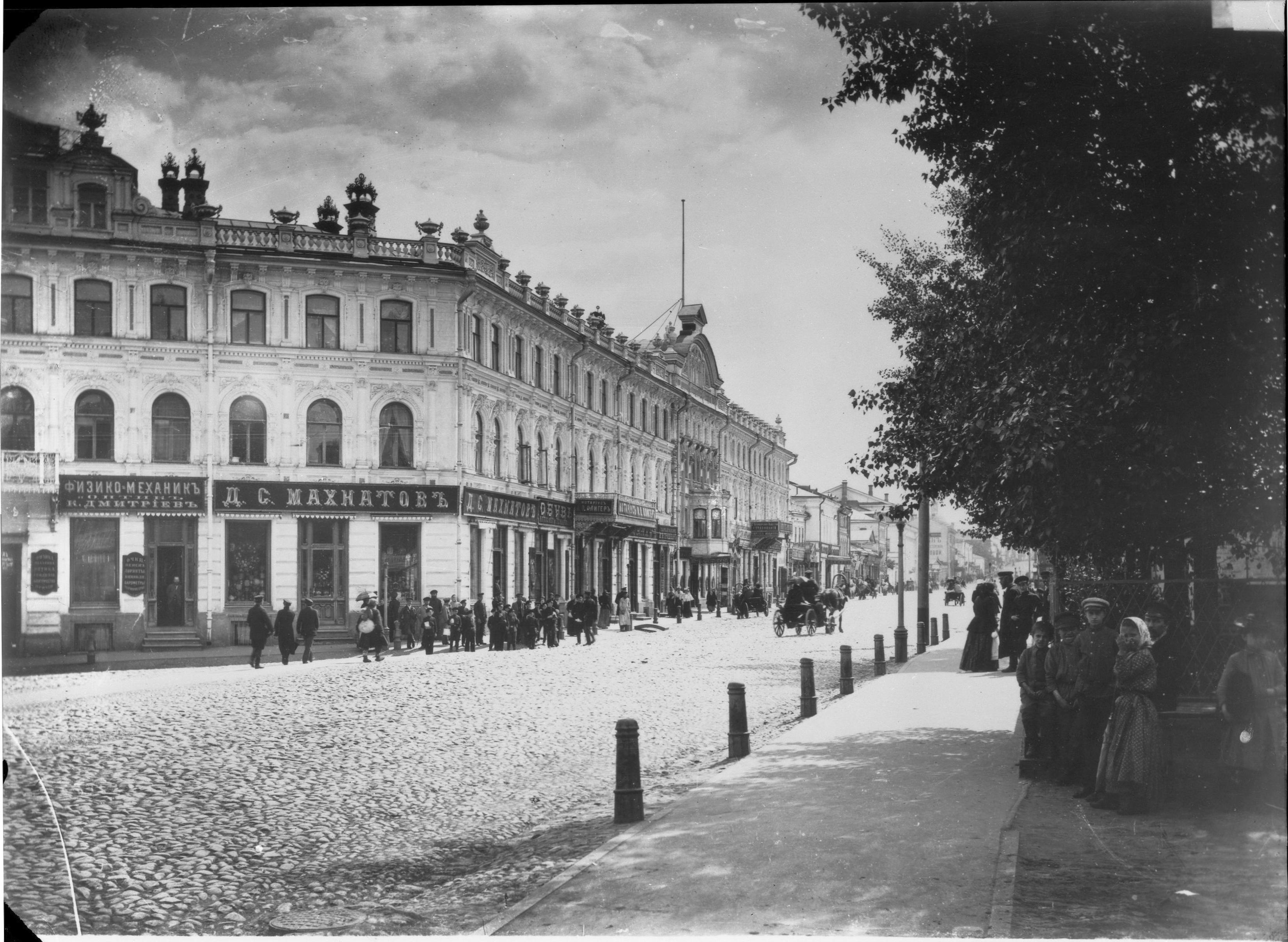 Угол Большой Покровской и Осыпной улиц