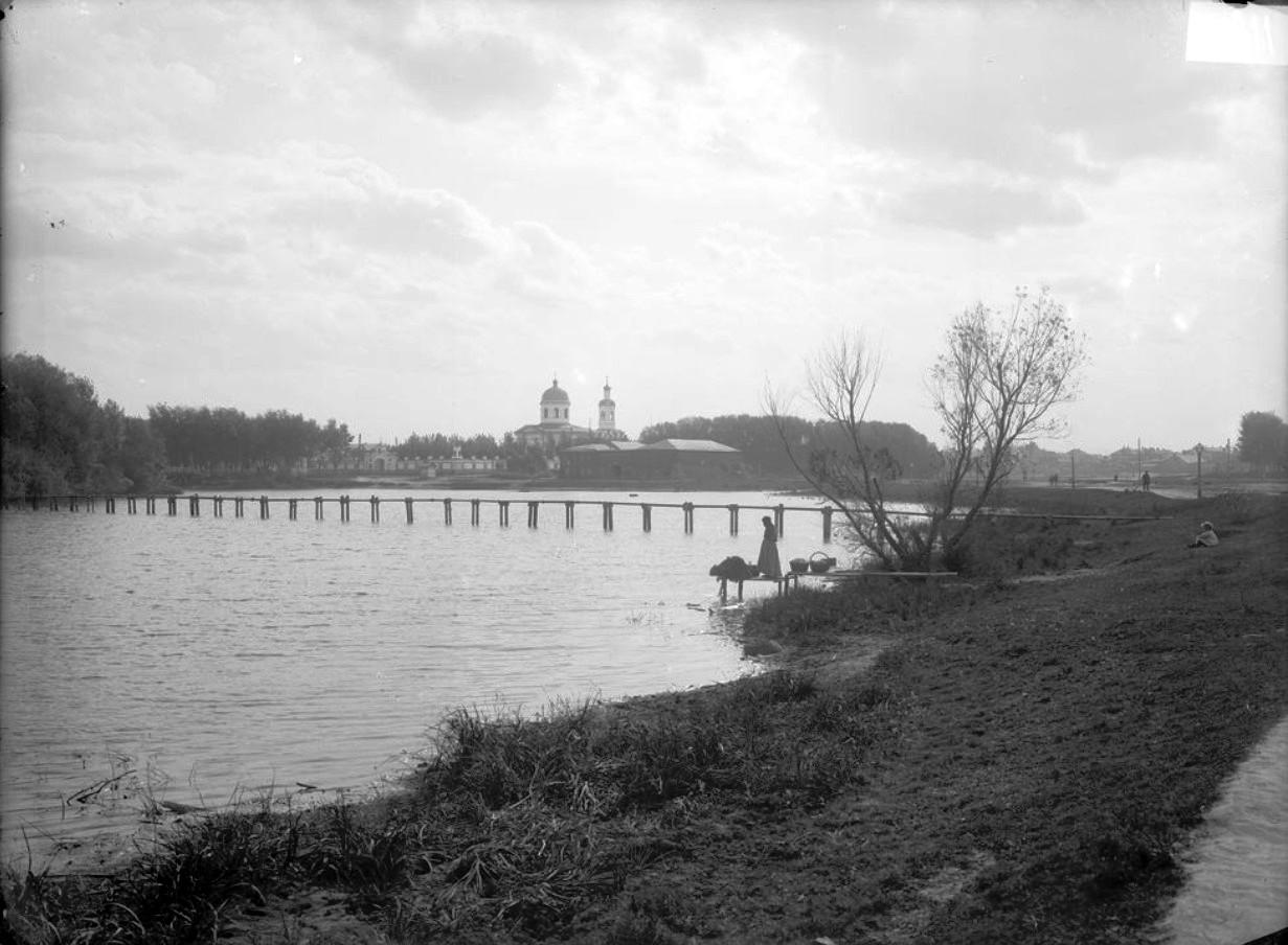 Нижегородская ярмарка. Бетанкуровский канал и Армянская церковь