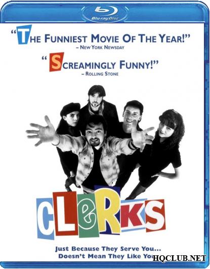 Клерки / Clerks. (1994/BDRip/HDRip)