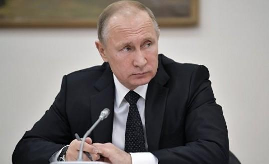 Путин подписал закон о видеонаблюдении за подсчетом голосов на выборах
