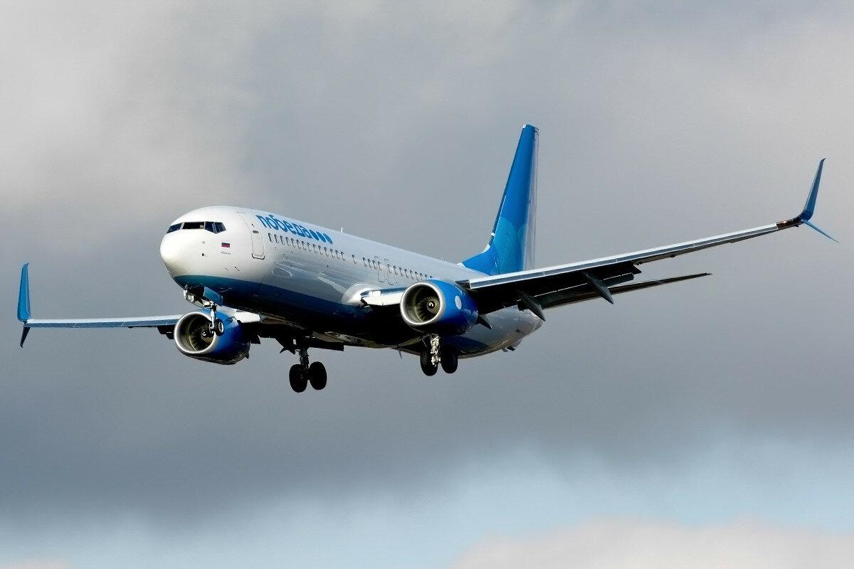 Boeing 737-8LJ.  Победа. VP-BPJ.
