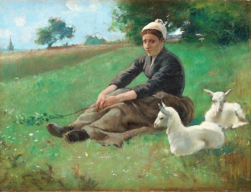Гастон Ла Туш Gaston La Touche, 1854 — 1913