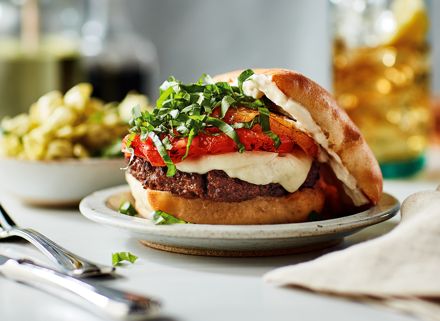 Burger Recipes for Hellmann's Mayonnaise / фото Brandon Voges
