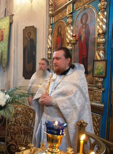 Рождественское поздравление настоятеля Воскресенского храма г. Вичуги игумена Филарета