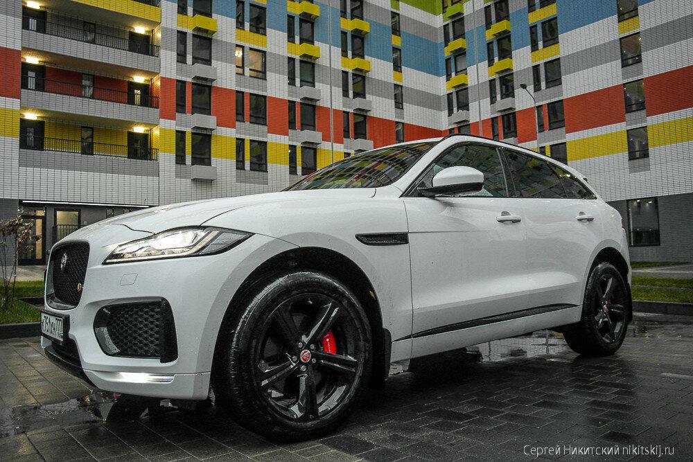 Четкий Jaguar F-Pace