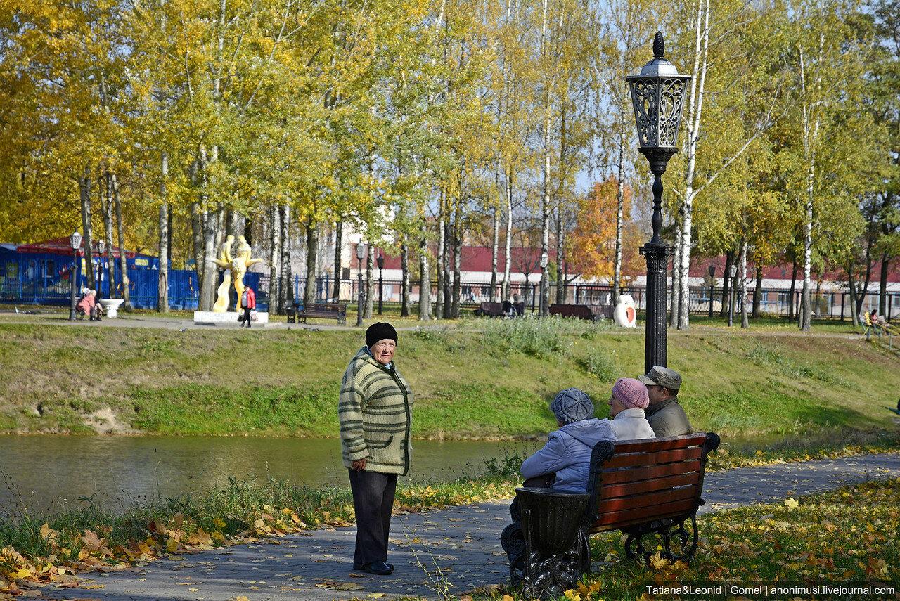 Осень-2017 в сквере Фестивальный. Гомель