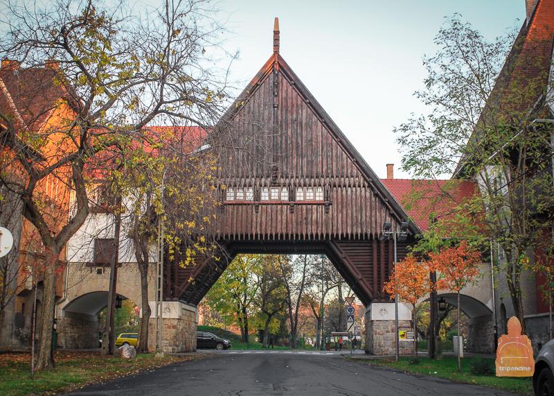 Необычный район находится на окраине Будапешта