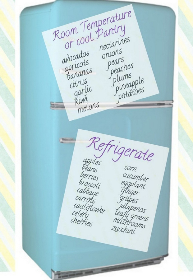3. Следуйте этим правилам, что хранить при комнатной температуре, а что — в холодильнике. При комнат