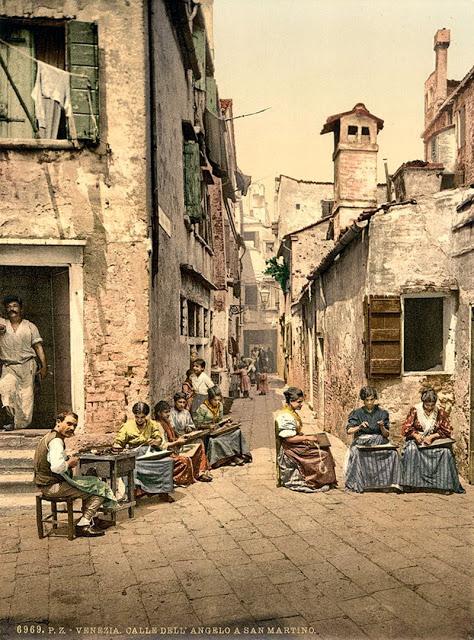 Двор в Венеции.