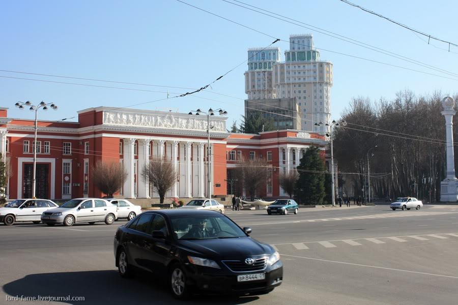 Душанбе. Небольшая прогулка по городу.