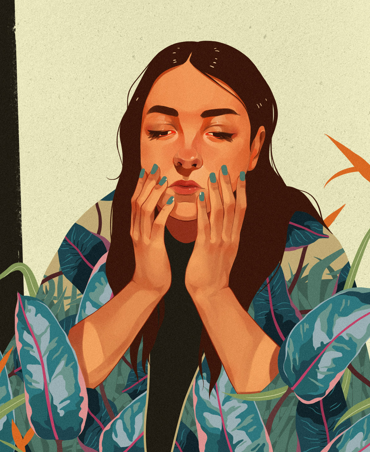 Enchanting Illustrations by Ana Godis