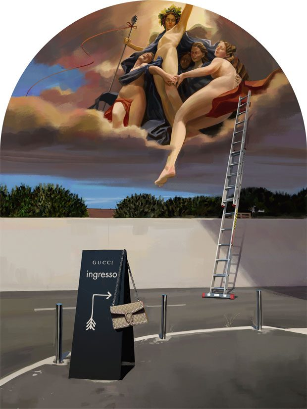 Artist Ignasi Monreal Collaborates With GUCCI Again