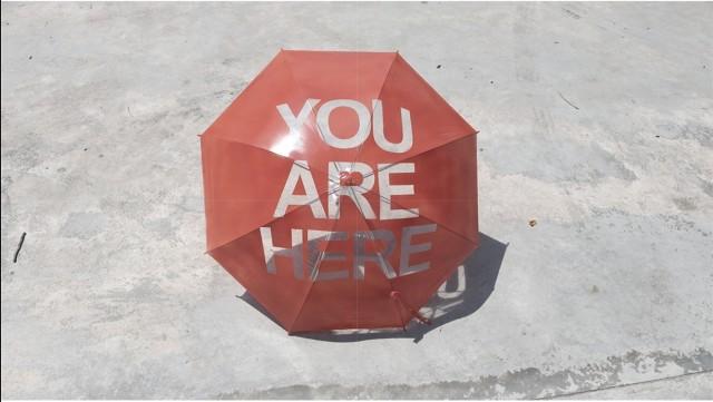 You Are Here Umbrella