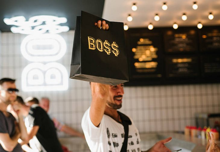 Bo$$ Man Burger Bar by Travis Walton Architecture