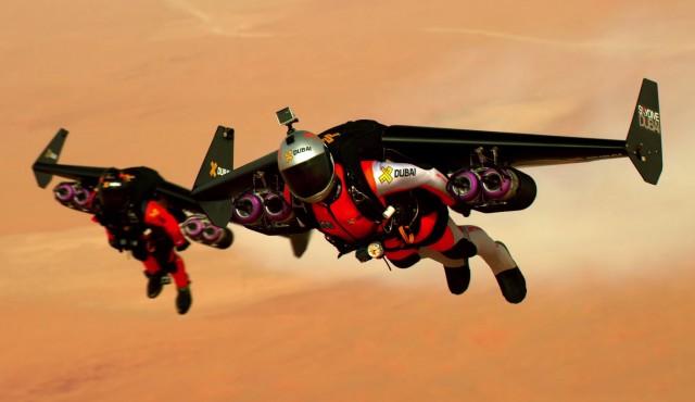 Amazing Jetpack Flight Above Dubai