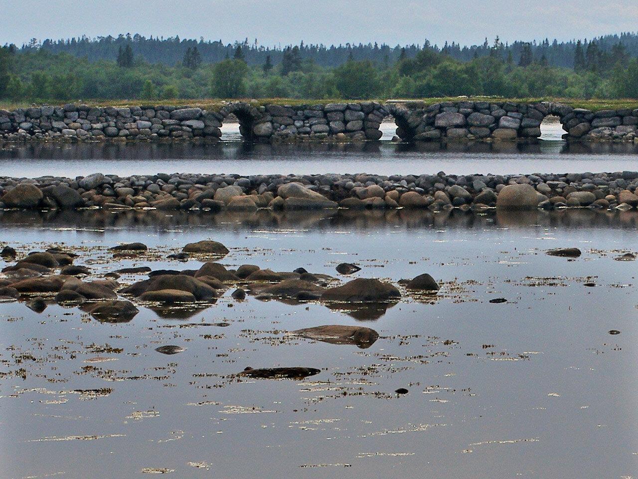 Соловецкая дамба. Автор фото: Юрий Семенов