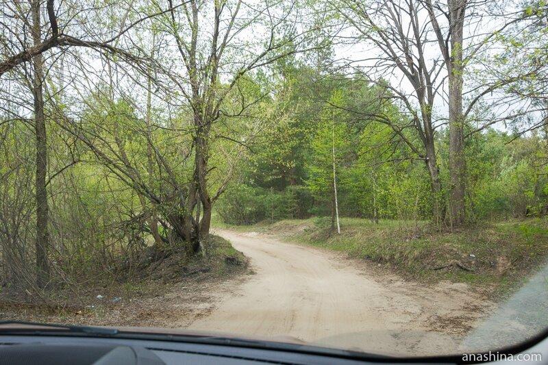 Дорога через лес, Нижегородская область