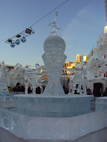 Скульптура Ледяной кубок