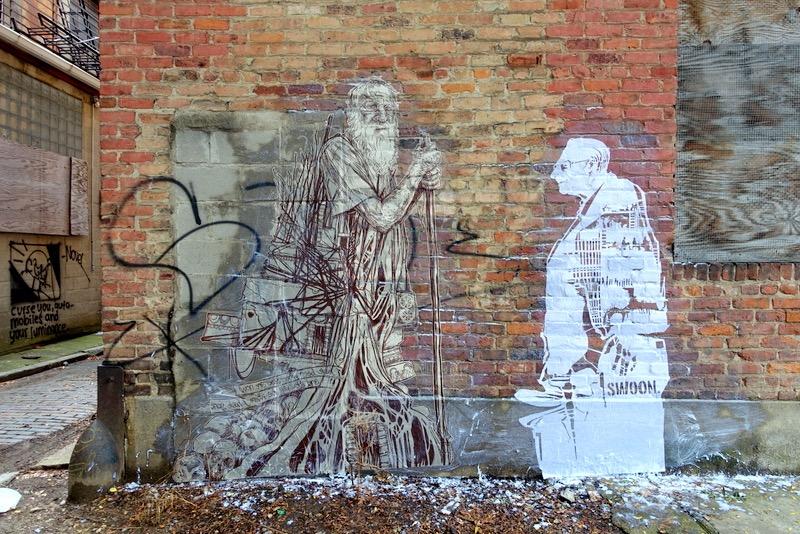 Streets: Swoon (Cincinnati) (8 pics)