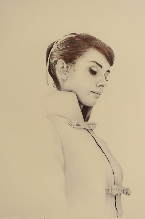 Photo-Realistic Ballpoint Pen Portraits - James Mylne
