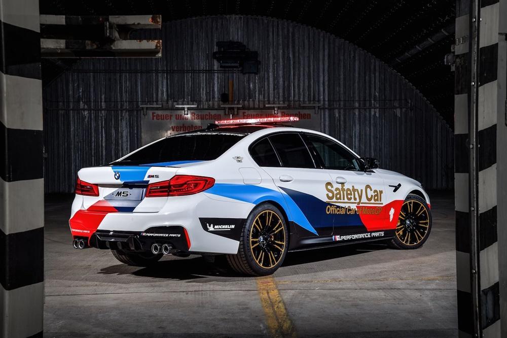 BMW M5 2018 - новый автомобиль безопаности MotoGP