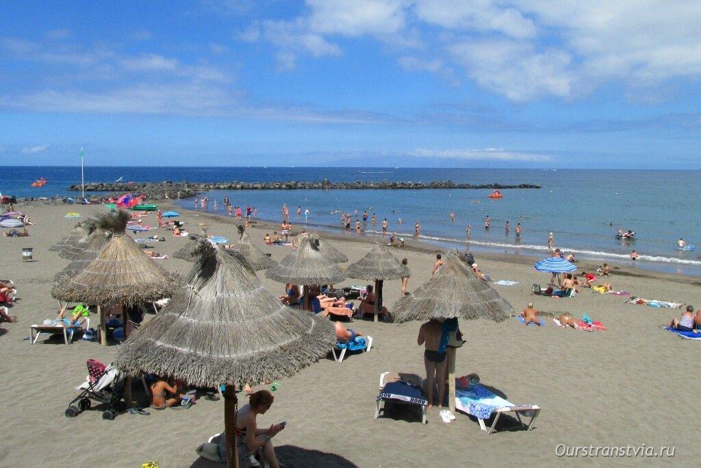 Песчаные пляжи Тенерифе - Троя